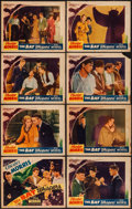 "Movie Posters:Horror, The Bat Whispers (Atlantic Pictures Corp., R-1930s). Lobby Card Set of 8 (11"" X 14""). Horror.. ... (Total: 8 Items)"