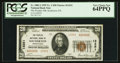 National Bank Notes:Pennsylvania, Souderton, PA - $20 1929 Ty. 2 The Peoples NB Ch. # 13251. ...