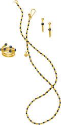 Estate Jewelry:Suites, Colored Diamond, Gold Jewelry Suite, Gurhan. ... (Total: 3 Items)