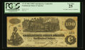 Confederate Notes:1862 Issues, T39 $100 1862 Counterfeit.. ...