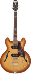 Music Memorabilia:Autographs and Signed Items, Paul McCartney and Ringo Starr Signed Electric Guitar....