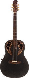 Musical Instruments:Acoustic Guitars, Ovation Adamas Custom-Made Acoustic Guitar for David Allen Coe....