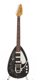 "Music Memorabilia:Autographs and Signed Items, Bush Signed Phantom ""Teardrop"" Guitar...."