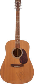 Music Memorabilia:Autographs and Signed Items, Garth Brooks Signed Guitar. ...