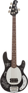 Musical Instruments:Bass Guitars, Red Hot Chili Peppers Signed Bass Guitar....