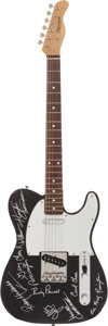 Music Memorabilia:Autographs and Signed Items, Lynyrd Skynyrd Signed Guitar....