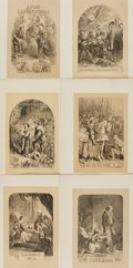 Books:Prints & Leaves, Group of Sixteen Nineteenth Century Lithographs Depicting Scenesfrom Various Shakespeare Plays. [N.p., n.d.]. ...