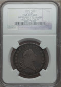 Early Half Dollars, 1795 50C 2 Leaves, O-122, R.5, -- Improperly Cleaned -- NGCDetails. Fine. Ex: Hilt Collection. NGC Census: (1/8). PCGS Pop...