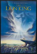 "Movie Posters:Animated, The Lion King (Buena Vista, 1994). One Sheet (27"" X 40"") DSAdvance. Animated. ..."