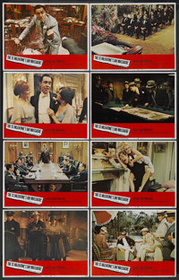 """The St. Valentine's Day Massacre (20th Century Fox, 1967). Lobby Card Set of 8 (11"""" X 14""""). Crime. ... (Total:..."""