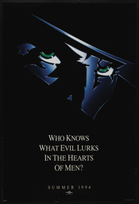 "The Shadow (Universal, 1994). One Sheet (27"" X 40"") DS. Adventure"
