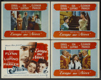 "Escape Me Never (Warner Brothers, 1948). Title Lobby Card and Lobby Cards (3) (11"" X 14""). Drama. ... (Total:..."