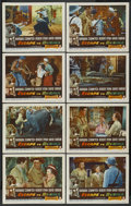 "Movie Posters:Adventure, Escape to Burma (RKO, 1955). Lobby Card Set of 8 (11"" X 14"").Adventure. ... (Total: 8 Items)"