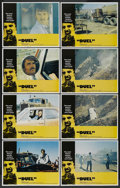 """Movie Posters:Action, Duel (Universal, 1972). Lobby Card Set of 8 (11"""" X 14""""). Action. ... (Total: 8 Items)"""