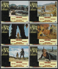 "Once Upon A Time in the West (Paramount, 1969). Lobby Cards (6) (11"" X 14""). Western. ... (Total: 6 Item Items..."