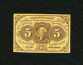 Fractional Currency:First Issue, Fr. 1230 5c First Issue Choice About New....