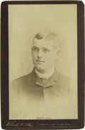 "Baseball Collectibles:Others, Circa 1890 Police Gazette Cabinet of John ""Jocko"" Fields. Thesecabinet cards were issued and distributed to promote sales o..."
