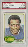 Football Cards:Singles (1970-Now), 1976 Topps Walter Payton #148 PSA Mint 9. Sweetness offers thishigh-grade rookie card from the 1976 Topps football issue, ...