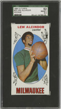 Basketball Cards:Singles (Pre-1970), 1969-70 Topps Lew Alcindor #25 SGC 92 NM/MT+ 8.5. Much likeartifacts related to Cassius Clay, collectors are particularly ...