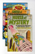 Silver Age (1956-1969):Horror, House of Mystery #144, 147, and 156 Group (DC, 1964-66) Condition:Average FN/VF.... (Total: 3 Comic Books)