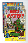 Silver Age (1956-1969):Horror, House of Mystery Group (DC, 1960-62) Condition: Average VG+....(Total: 12 Comic Books)