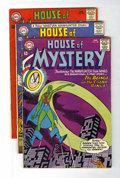 Silver Age (1956-1969):Horror, House of Mystery Group (DC, 1965-66) Condition: Average VG+....(Total: 6 Comic Books)