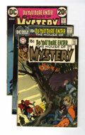 Bronze Age (1970-1979):Horror, House of Mystery Group (DC, 1970-81) Condition: Average VG+....(Total: 12 Comic Books)