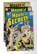 Silver Age (1956-1969):Mystery, House of Secrets #7, 22, and 26 Group (DC, 1956-59) Condition:Average VG.... (Total: 3 Comic Books)