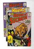 Silver Age (1956-1969):Mystery, House of Secrets Group (DC, 1961-63).... (Total: 5 Comic Books)