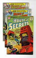 Silver Age (1956-1969):Mystery, House of Secrets Group (DC, 1964-65) Condition: Average FN/VF....(Total: 5 Comic Books)