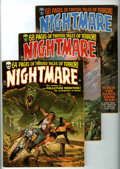 Bronze Age (1970-1979):Horror, Nightmare Group (Skywald, 1970-72) Condition: Average FN+....(Total: 7 Comic Books)