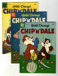 Silver Age (1956-1969):Cartoon Character, Chip 'n' Dale #4-14 File Copies Group (Dell, 1956-58) Condition: Average VF/NM.... (Total: 11 Comic Books)