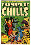 Golden Age (1938-1955):Horror, Chamber of Chills #21 (Harvey, 1954) Condition: VF-....