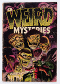 Golden Age (1938-1955):Horror, Weird Mysteries #2 (Gilmor, 1952) Condition: FR....