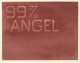 ED RUSCHA (American, b. 1937) 99% Angel, 1% Devil, 1983 Dry pigment on paper 21 x 27-1/4 inches (53.3 x 69.2 cm) Sig