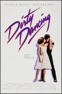 "Dirty Dancing (Vestron, 1987). One Sheet (27"" X 41""). Romance"