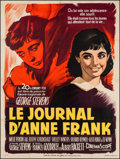 """Movie Posters:Drama, The Diary of Anne Frank (20th Century Fox, 1959). French Grande (46"""" X 62"""") Style B. Drama.. ..."""