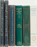 Books:Music & Sheet Music, [Polyphony.] Group of Seven Volumes Related to Polyphony. Various publishers and dates. ... (Total: 6 Items)