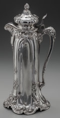 Silver Holloware, American:Ewers and Basins, A REED & BARTON SILVER LIDDED EWER, Taunton, Massachusetts,circa 1910. Marks: (eagle-R-lion), STERLING, 105, A, REED &BA...