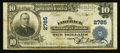 National Bank Notes:Maine, Limerick, ME - $10 1902 Plain Back Fr. 624 The Limerick NB Ch. #2785. ...
