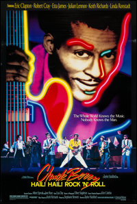 "Chuck Berry: Hail! Hail! Rock 'n' Roll (Universal, 1987). One Sheet (27"" X 39.75""). Rock and Roll"