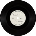 "Music Memorabilia:Recordings, Beatles Rare Early Version ""Penny Lane"" Acetate Without Trumpet(EMI 1966-67)...."