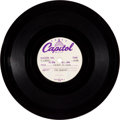 "Music Memorabilia:Recordings, Beatles ""Ticket To Ride/ Yes It Is"" Acetate (Capitol, 1965). ..."