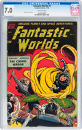 Golden Age (1938-1955):Science Fiction, Fantastic Worlds #6 (Standard, 1952) CGC FN/VF 7.0 Off-whitepages....