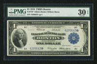 Fr. 710* $1 1918 Federal Reserve Bank Note PMG Very Fine 30 EPQ