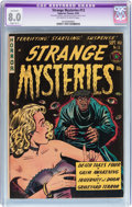 Golden Age (1938-1955):Horror, Strange Mysteries #13 (Superior Comics, 1953) CGC Apparent VF 8.0Slight (B-1) Off-white to white pages....