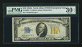Small Size:World War II Emergency Notes, Fr. 2309* $10 1934A North Africa Silver Certificate. PMG Very Fine 30 EPQ.. ...