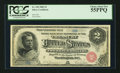 Large Size:Silver Certificates, Fr. 240 $2 1886 Silver Certificate PCGS Choice About New 55PPQ.....