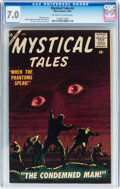 Golden Age (1938-1955):Horror, Mystical Tales #4 (Atlas, 1956) CGC FN/VF 7.0 Off-white to whitepages....