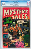 Golden Age (1938-1955):Horror, Mystery Tales #9 (Atlas, 1953) CGC FN- 5.5 Cream to off-whitepages....